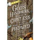 Salt & Light, For We Are Gods Handiwork Church Bulletins, 8 1/2 x 11 inches Flat, 100 Count