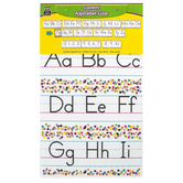 Teacher Created Resources, Confetti Alphabet Line Bulletin Board Set, 14 Pieces