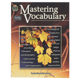 Teacher Created Resources, Mastering Vocabulary Resource Book, Reproducible, 144 Pages, Grades 5-8