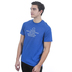 Red Letter 9, Moses, Men's Short Sleeve T-Shirt, Royal Blue Triblend, Small