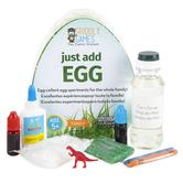 Griddly Games, Just Add Egg Organic Science & Art Kit, Ages 8 & Older