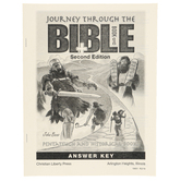 Christian Liberty Press, Journey Through the Bible Book 1 Answer Key, 45 Pages, Grades 7-8