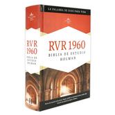 RVR 1960 Holman Spanish Study Bible, Hardcover