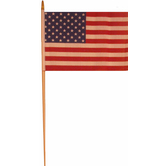 Liberty Flags, U.S. Flag, 12 x 18 Inches, Multi-Colored, Pack of 2