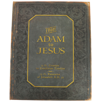 Master Books, From Adam to Jesus: 13 Foot Double-Sided Timeline Book, Hardcover, Grades 5 and up