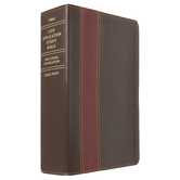 NLT Life Application Study Bible, Large Print, Duo-Tone, Multiple Styles Available