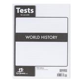 BJU Press, World History Tests, 5th Edition, Paperback, Grade 10