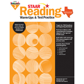 Newmark Learning, STAAR Reading Warm-Up and Test Practice: Grade 3, Paperback, 144 Pages