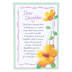 Product Concept Manufacturing, Querida Hija Spanish Tabletop Plaque, 4 x 6 inches