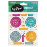 Faith that Sticks, Isaiah 41:10 Stickers, Various Sizes, Multi-Colored, Pack of 48