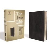 ESV The Jesus Bible, Imitation Leather, Black