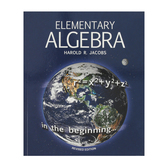 Master Books, Jacobs Elementary Algebra, Student Text, Paperback, 380 Pages, Grades 9-10