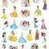Disney Princess Stickerland Pad, 5.75 x 9.5 Inches, Multi-Colored, Book of 270