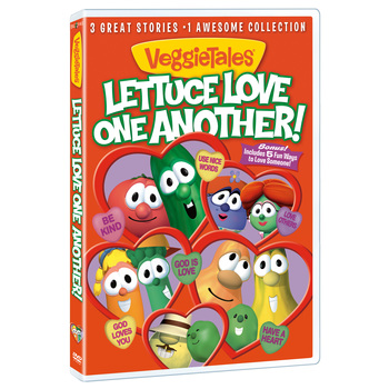 VeggieTales, Lettuce Love One Another, DVD