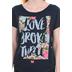 Future Shirts, tobyMac, Love Broke Thru, Women's Short Sleeve Dolman Tee, Navy, Small