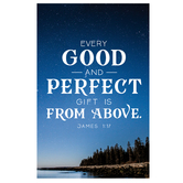 Salt & Light, Every Good And Perfect Gift Church Bulletins, 8 1/2 x 11 inches Flat, 100 Count
