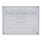 Renewing Minds, Certificate of Participation, 8 1/2 x 11 Inches, Pack of 30