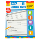 Evan-Moor, Daily Language Review, Grade 5, Teacher's Edition, Paperback, 136 Pages