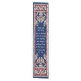 Logos Trading Post, Proverbs 31:25 Woman Of God Woven Bookmark, 2 x 9 inches