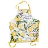Michel Design Works, Lemon Basil Apron, Cotton, Yellow, Adult Size