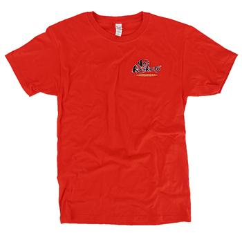 SonTeez, Preacher Won't Have to Lie, Men's Short Sleeved T-Shirt, Orange, S-2XL