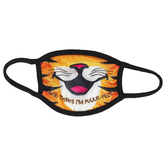 Kerusso, God Thinks I'm Puuur-Fect Tiger Kids Mask, One Size Fits Most Ages 3 to 10, 1 Mask