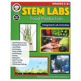 Carson-Dellosa, STEM Labs: Food Production Resource Book, Paperback, 96 Pages, Grades 5-8