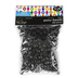 Tree House Studio, Pony Beads Value Pack, Plastic, Black, 6mm x 8mm, 500 Pieces