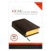 ESV Study Bible, Genuine Leather, Black