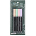 Chalk Markers, Bullet Tip, 2 mm, Assorted Pastel Colors, Pack of 4