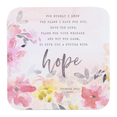 Legacy Publishing Group, Jeremiah 29:11 Plans For You Coaster, 3 3/4 inches