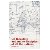 Salt & Light, Go Therefore Church Bulletins, 8 1/2 x 11 inches Flat, 100 Count