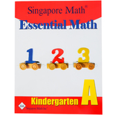 Singapore Math Inc., Essential Math Kindergarten A, Paperback, 158 Pages, Grade K