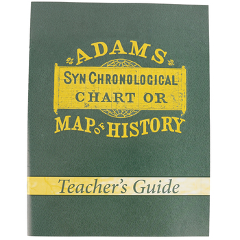 Master Books, Adams' Chart of History Teacher's Guide, Paperback, Grades 5 and up