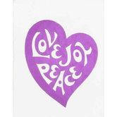 McBeth, Love Joy Peace Mini Scripture Book, Paperback