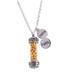 Holy Land Gifts, Messianic Mustard Seed Pendant Necklace, Silver, 20-inch Chain