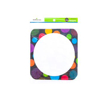 Chalk Talk Collection, Shaped Notepad, 6.25 x 6.5 Inches, Multi-Colored, 50 Sheets