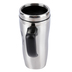 Christian Art Gifts, Psalm 84:5, Blessed Is The Man Travel Mug, Stainless Steel, Silver, 16 ounces