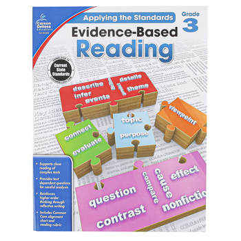 Carson-Dellosa, Evidence-Based Reading, Applying the Standards, Reproducible Paperback, Grade 3