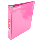 Bazic Products, Dual Pocket View Binder, Fuchsia, 10 1/4 x 1 1/2 x 11 1/2 inches