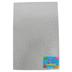 Silly Winks, Glitter Foam Sheet, Silver, 12 x 18 Inches, 1 Each