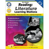 Carson-Dellosa, Reading Literature Learning Stations Workbook, Paperback, 48 Pages, Grades 6-8