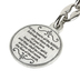 H.J. Sherman, Come Holy Spirit Key Chain, Pewter, Red & Silver, 3 1/4 x 1 1/4 inches