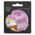Renewing Faith, Raised On Sweet Tea and Jesus Car Coaster, Absorbent Sandstone, Purple, 2 1/2 inches
