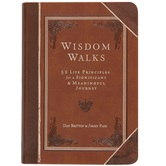 Wisdom Walks, by Dan Britton & Jimmy Page, Imitation Leather, Brown