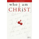 Who I Am In Christ Pamphlet