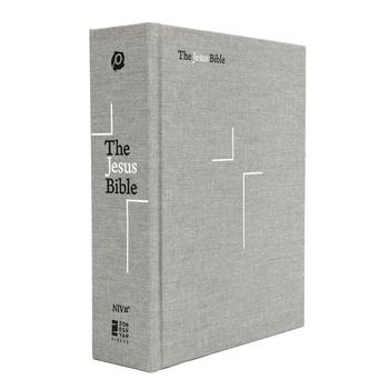 NIV The Jesus Bible, Hardcover, Gray