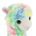 Ty Beanie Boos, Lola Llama Plush, Pastel Watercolor, 6 inches