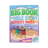 Big Book of Bible Story Activity Pages #2 by David C Cook, Paperback, 224 Pages, Ages 2-5