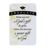 Dicksons, Graduate Pocket Card, Paper, White & Black, 2 1/2 x 4 inches